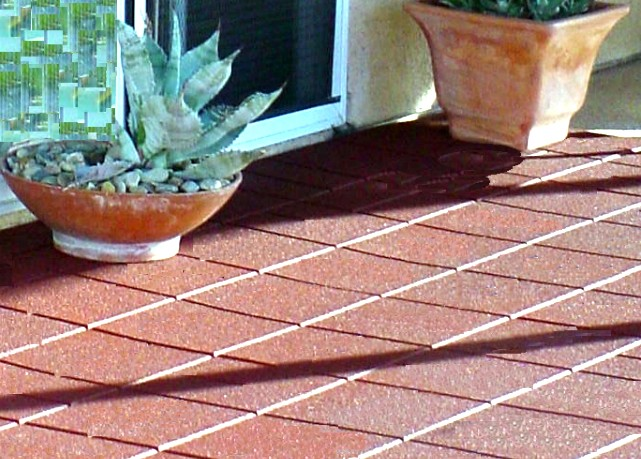Environmental Molding Concepts EMC Rubber Flooring Paver Tiles - Cost to lay outdoor tiles