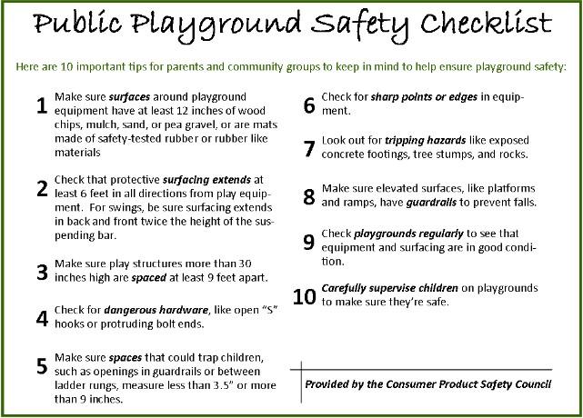 Environmental Molding Concepts Emc Playground Safety