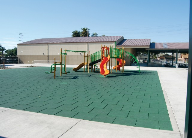 playground flooring at school